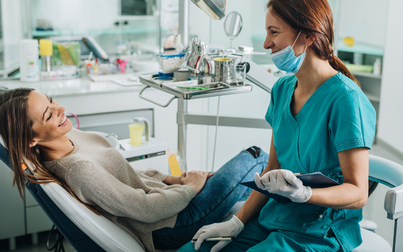dental cleanings checkups in lively